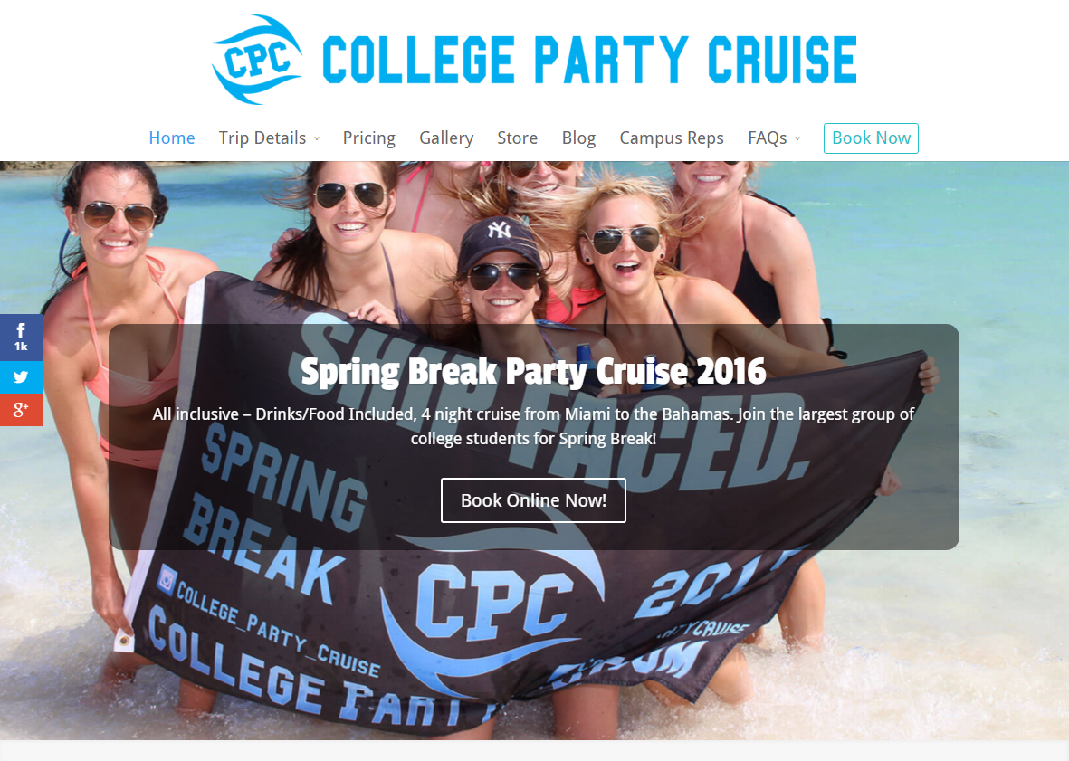 College Party Cruise